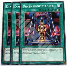 Yugioh LDK2-ITY24 3x DIMENSIONE MAGICA (MAGICAL DIMENSION) Comune