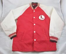 St Louis Cardinals Jacket Windbreaker Stahl Urban Youth Size 12 Vintage 1970s