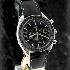 bnib OMEGA Speedmaster Moonwatch Co-Ax MOONPHASE Chronograph 304.33.44.52.01.001