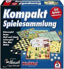 Antikspielzeug Gesellschaftsspiele Obligatorisch 60s Vintage Spielbrett Dame Und Mühle Schmidt Spiel
