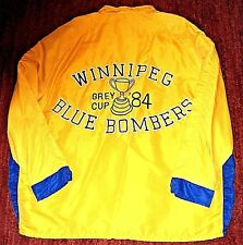 * Vintage WINNIPEG BLUE BOMBERS CFL 1984 Grey Cup * NEW Jacket 2XL Embroidered