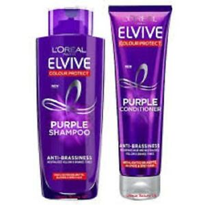 L'Oreal Elvive ANTI-BRASSINESS PURPLE Shampoo AND Conditioner TWIN PACK