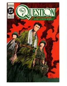 THE QUESTION #32 (VF-NM) 1989