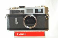 Canon Rangefinder 7 camera body only Model RF 7 from 50's Vintage