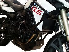 Paramotore HEED BMW F 800 GS (2013 - 2018)  + paracoppa acciaio nero