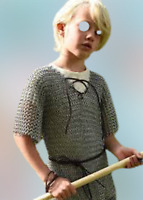Christmas Best Gift For Child Son /& Daughter,Medieval Aluminium Butted Chainmail