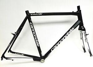 2012 Cannondale CAADX 6 Cyclocross Gravel Bike Frame+Fork Canti Brake 58cm #4409