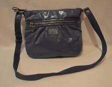 Coach Poppy Daisy Blue Patent Liquid Gloss Shoulder Crossbody Bag Purse F22147