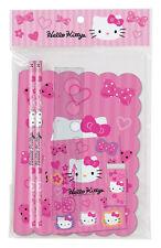 Sanrio Hello Kitty Pink Bow Writing Set
