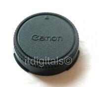 2x Rear Lens Cap For Canon FD F-1N A-1 T-90 AE-1P FL AE Twist-on