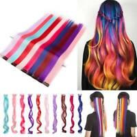 100% Natural Mega Thick Highlight Clip in Hair Extensions Real As Human 10Pcs US