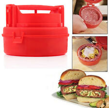 1xStuffed Burger Press Pizza Hamburger Grill BBQ Patty Maker  Cooking Tools