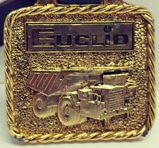 Vintage Euclid Watch Keyfob Construction Dump Truck Advertising Heavy Equipment