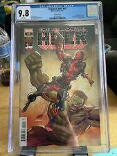 Immortal Hulk #45 CGC 9.8 Deadpool 30th Anniversary variant Rob Liefeld 2021