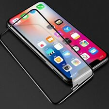 For Apple iPhone XS MAX Full Coverage Tempered Glass Screen Protector Cover Film