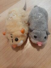 Zhu Zhu Pets Lot Of 2 ZuZu Hamsters Toy 2008