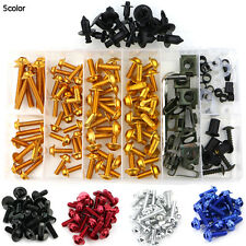Yamaha YZF R1 2004 2005 2006 CNC Fairing Bolt Kit Bodywork Screws 1 Set Gold