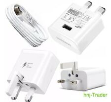 Genuine Fast Charge Samsung Galaxy S8/S9+ Wall Plug & Rapid Charge Type-C Cable