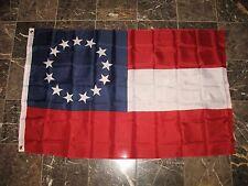3x5 Sterne und Bars Erste National 13 Südstaaten CSA Bürgerkrieg Flagge 3'x5 '2