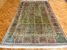 Orientteppich Teppich  Seidenteppich Felderteppich 285x173  Luxus Pur