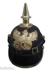 German Militaria Purssian Leather Helmet Spiked Bavarian Helmet (MH-252)