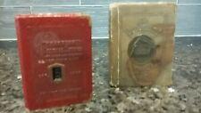 Vintage Book Banks...Westside Federal Savings and Prudential, NO KEYS