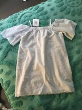 Witchery Girls White Broderer Anglaise Dress Size 10 Nwt RRP 69.95