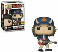 RARE AC/DC ANGUS YOUNG CHASE FUNKO POP VINYL NEW in Mint Box + P/P