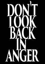 high detail airbrush stencil dont look back FREE UK POSTAGE