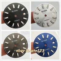 Bliger/Sterile 29mm watch dial fit eta 2824/2836 mingzhu 2813/3804 miyota 8205