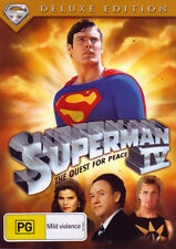 Superman IV: The Quest for Peace (1987) (Deluxe Edition) * NEW DVD *
