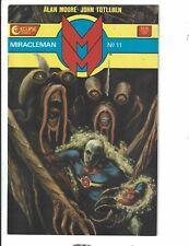 Miracleman # 11 NM- Eclipse Comic Book Alan Moore John Totleben 1987 TD1