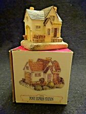 Liberty Falls Pony Express Station AH16 Americana Collection Village Figurine