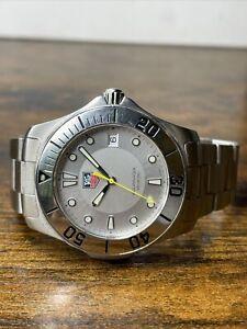 Tag Heuer Aquaracer Silver Dial Men's Quartz 41mm Stainless Steel WAB1111.BA0801