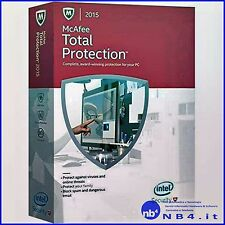 MTP15IMB3RAA MCAFEE TOTAL PROTECTION 2015 3PC