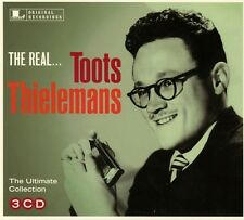 TOOTS THIELEMANS - THE REAL...TOOTS THIELEMANS  3 CD NEU