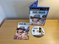 PLAYSTATION 2 - PS2 - RED DEAD REVOLVER - COMPLETE WITH MANUAL - PAL - FREE P&P