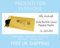 0.50 x Jiffy Airkraft Gold Bubble Lined Postal Padded Mailing Bags JL-GO-00 B/00