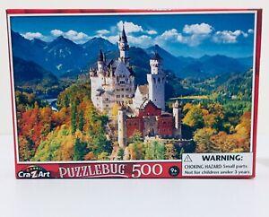 Neuschwanstein Castle - 500 Piece PuzzleBug Jigsaw Puzzle 46cm x 28cm new/sealed