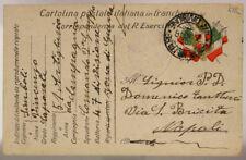 POSTA MILITARE 47^ DIVISIONE 2?.10.1916 TIMBRO DI REPARTO #XP296G
