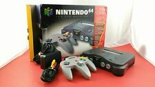 Nintendo 64 system w/ Expansion Pak [w/1 Official Controller, Box & All Cables]
