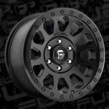 Fuel Vector 18x9 8x6.5 ET1 Matte Black Wheels (Set of 4)