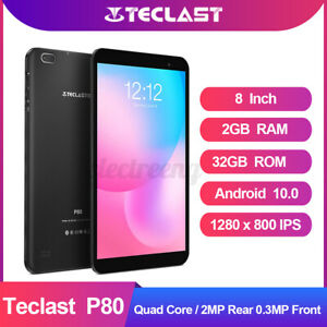 Teclast P80 Allwinner A33 Quad Core 2GB RAM 32GB ROM Android 10 OS Tablet 10 -