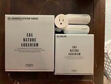 Complete Aqua Design Amano ADA Advanced Forest CO2 System + El Valve & more