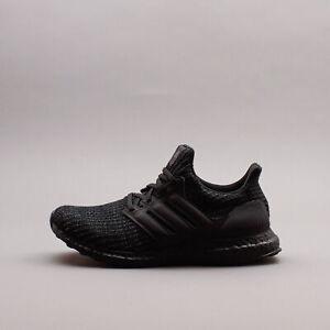 Adidas Running Ultraboost 4.0 DNA Triple Black gym workout New Women Shoe GW2293