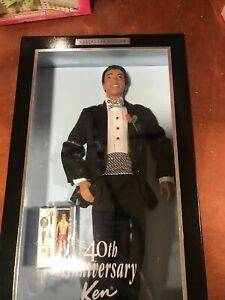 "KEN ""40TH ANNIVERSARY"" DOLL AFRICAN AMERICAN"