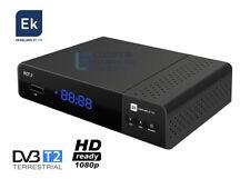 DECODER DIGITALE TERRESTRE T2 NUOVE FREQUENZE 2021 RICEVITORE DVB-T2 HDMI EK