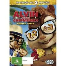 Alvin And The Chipmunks TRILOGY 1 2 3 : NEW DVD