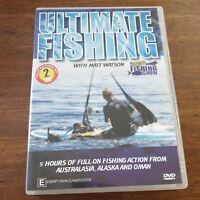 Ultimate Fishing DVD with Matt Watson R4 Like New! – FREE POST