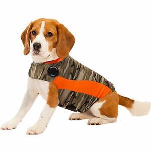ThunderShirt for Dogs Anxiety Behavior Training Calming Camo Polo S 15-25 lbs